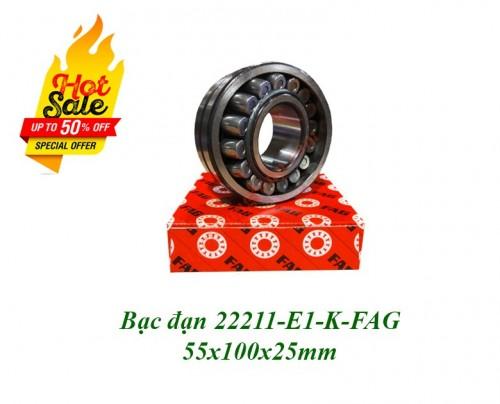 Bạc đạn 22211-E1-K-FAG