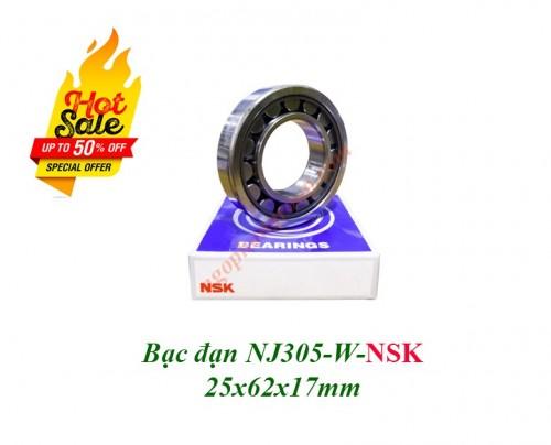 Vòng bi NJ305 W NSK