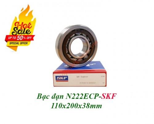 Vòng bi N222ECP SKF