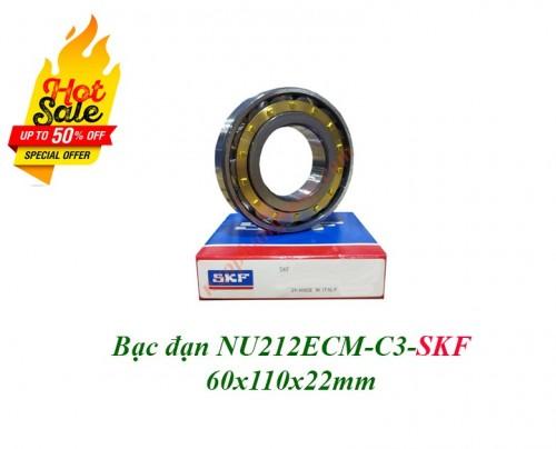 Vòng bi NU212ECM-C3 SKF