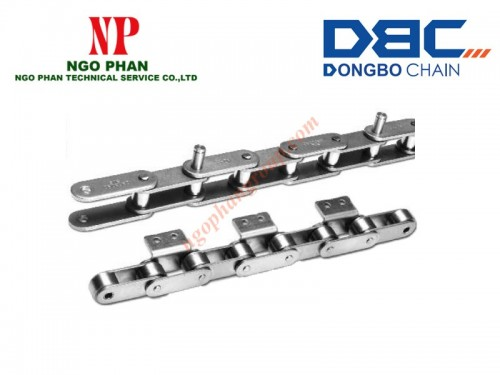 Xích Bước Đôi Tay Gá DBC (Double Pitch Attachment)